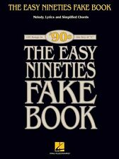 The Easy Nineties Fake Book Key Of C Learn to Play Piano Guitar Music Book