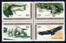 Sc# 1430a 8 Cent Wildlife Conservation (1971) MNH Block/4 SCV $1.00  Read