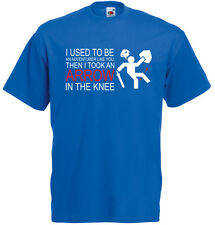 I used to be an adventurer, Arrow to the Knee, Men's Printed T-Shirt