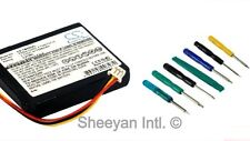 Replacement Battery For TomTom One 3rd Edition Dach + 7PC Tool Kit 1100mAh CE