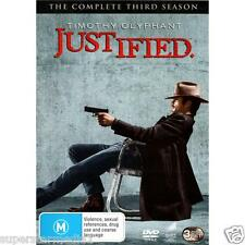 Justified Series : Season 3 : NEW DVD