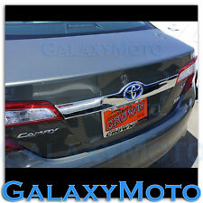 11-14 Toyota Camry Triple Chrome Tailgate Liftgate Handle Trunk Hatch Cover Trim