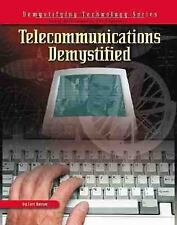 Telecommunications Demystified (With CD-ROM) (Demystifying Technology -ExLibrary