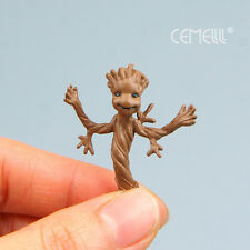 Vivid Guardians Of the Galaxy Groot Treant Mini Plastic Figure Toy Doll 1.5 in