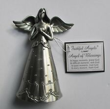 g Angel of Blessings praise seek trust thank God FAITHFUL FIGURINE ganz