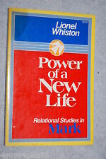 Power of a New Life by Lionel Whiston (1976, Paperback) BIBLE STUDY Christian