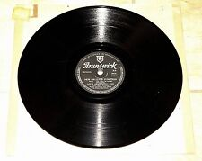 LOUIS ARMSTRONG ~ NEW ORLEANS FUNCTION ~ UK BRUNSWICK 78 RPM EX+ GRADE