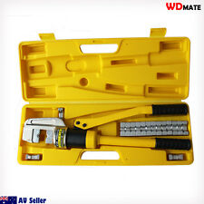 Hydraulic Crimper 12T 16-240mm 10 Die Lug Crimping tool manual Quick 20021013