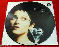 "MADONNA - Rain - UK 12"" Picture Disc (Vinyl) with insert"