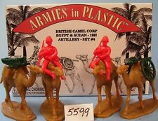 Armies in Plastic 5599 Egypt & Sudan British Camel Corps 1882 Artillery Set #4