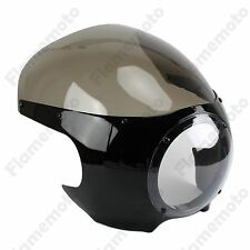 Headlight Fairing Windscreen Vintage Drag Racing Viper Cafe Racer Motorcycle