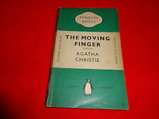 THE MOVING FINGER  BY  AGATHA CHRISTIE ( SMALL PB BOOK )^