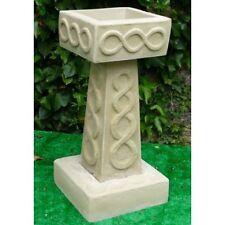 CelticBirdbath - Stone Birdbath - Garden Birdbath