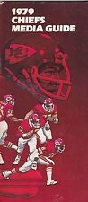1979 KANSAS CITY CHIEFS NFL FOOTBALL MEDIA GUIDE