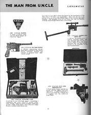 VINTAGE toy cataloghi-Lone Star/MERIT/Gilbert/Timpo-PLUS VINTAGE CINEMA annunci