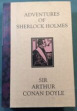 Arthur Conan Doyle  ADVENTURES OF SHERLOCK HOLMES  Book-Of-The-Month 1st Ed