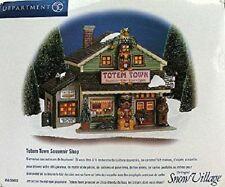 Dept 56 The Original Snow Village Totem Town Souvenir Shop #56.55053 NOS