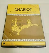 SPI 1975 - CHARIOT - Biblical Warfare 3000 - 500 BC - Tactical Series (punched)
