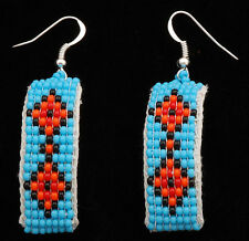 Native American Navajo Southwest Beaded Earrings