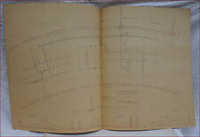 1867 Paris Universal Exhibition Steam Engine Pipes Distribution Plan Galloway