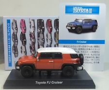 1:64 Diecast - Kyosho - Toyota II FJ Cruiser - Orange - MiniCar Collection