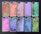 Dynamic Heart Quicksand Glitter Liquid Hard Case Cover For Apple iPhone 5 6 6s