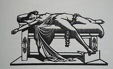 CARLEGLE Les plus jolies roses de l'anthologie grecque, bois de Carlegle, plaque