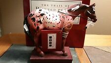 TRAIL OF PAINTED PONIES: HORSE WITH NO NAME ~ 1E 0394 RESIN/NATIVE AMERICAN/MINT