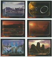 Babylon 5 - Babylon 5 - Special Edition - 6 Worlds of Babylon 5 Cards