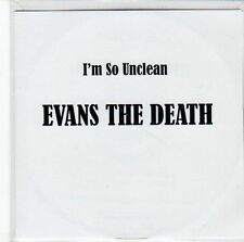 (EE820) Evans The Death, I'm So Unclean - DJ CD