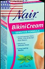 Nair Sensitive Hair remover cream, Bikini Cream 1.7 oz 48 g-IMPORTED FROM U.S.A