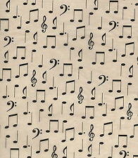 MUSIC NOTE Tissue Paper ~ Symphony ~ Piano ~ 10 Large Sheets