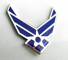 USAF UNITED STATES AIR FORCE CUT OUT LARGE WINGS LAPEL PIN BADGE 1.5 INCHES