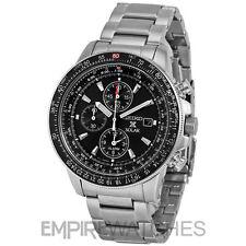 * NUEVO * SEIKO PROSPEX FLIGHTMASTER ALARMA PILOTO Solar Reloj-SSC009P1-RRP £ 279