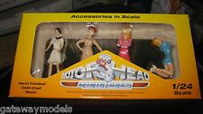 MOTORHEAD 1/24  SET OF 4 SIXTIES SWEETIES GIRLS FIGURINES DIORAMA DISPLAY  #855