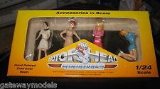 MOTORHEAD 1/24  SET OF 4 SIXTIES SWEETIES GIRLS FIGURINES DIORAMA DISPLAY  #855