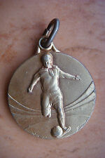 RARE ORIGINAL SPORT SOCCER TOURNAMENT 1950 FOOTBALL BRONZE MEDAL