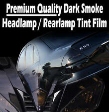 30cm x 100cm Dark Black Car / Motorbike Headlight Rear Lamp Tint Tinting Film