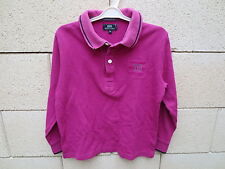 Polo SERGE BLANCO petit Quinze rugby & tradition fuschia shirt enfant 8 ans