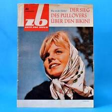 DDR Zeit i Bild ZB NBI 44/1964 Stölln Rathenow Woschod Carl Zeiss Timo Rinnelt B