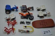 Lego Huge Lot of Minifigures parts for auto cars -- must see! Lot#2717