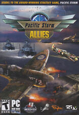 PACIFIC STORM ALLIES Naval Combat Strategy PC Game NEW!