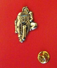 English Pewter MOTORBIKE, Motor Cycle Bike Pin Badge Tie Pin / Lapel Badge P1