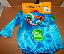 Halloween Costume Mini Monster With Hood Infant Age 6-12 Months 72H