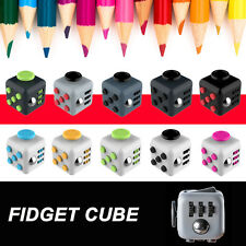 Magic Fidget Cube Toy Christmas Gift Anxiety Focus Stress Relief For Adults Kids