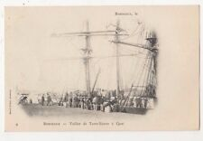 Bordeaux, Voilier de Terre-Neuve Early UB Postcard, B606