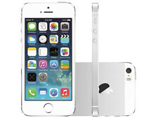 GSM Apple iPhone 5S Desbloqueado Fábrica Smartphone 16GB Blanco/Plata
