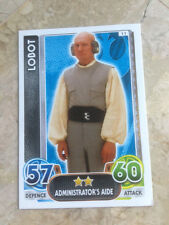 STAR WARS Force Awakens - Force Attax Trading Card #011 Lobot