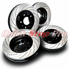 BMW047S 328i 335D 335i 335xi Performance Brake Rotors Cross Drill + Curve Slots