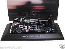 Porsche 919 Hybrid #18 Le Mans 2015 dark finish version Spark 1:43 MAP02087515